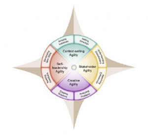 Four Leadership Agiliity Compass